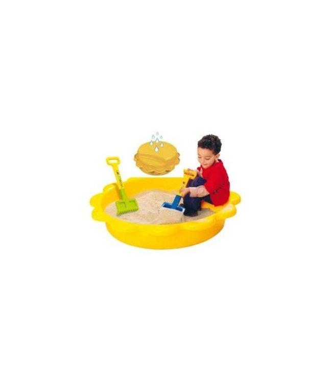 Paradiso Toys Paradiso Toys Gele Zandbak / Zwembad Zon 114x26cm