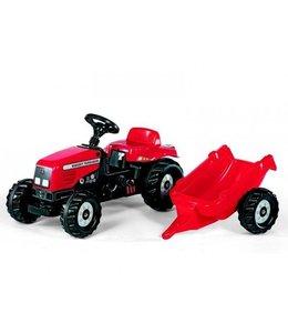 Rolly Toys RollyKid Massey Ferguson Tractor met Aanhanger