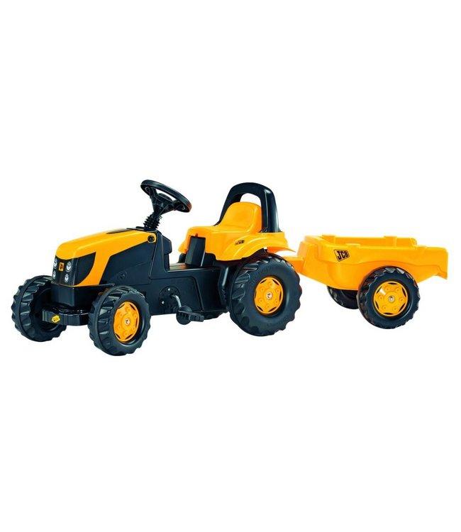 Rolly Toys RollyKid JCB Tractor met Aanhanger