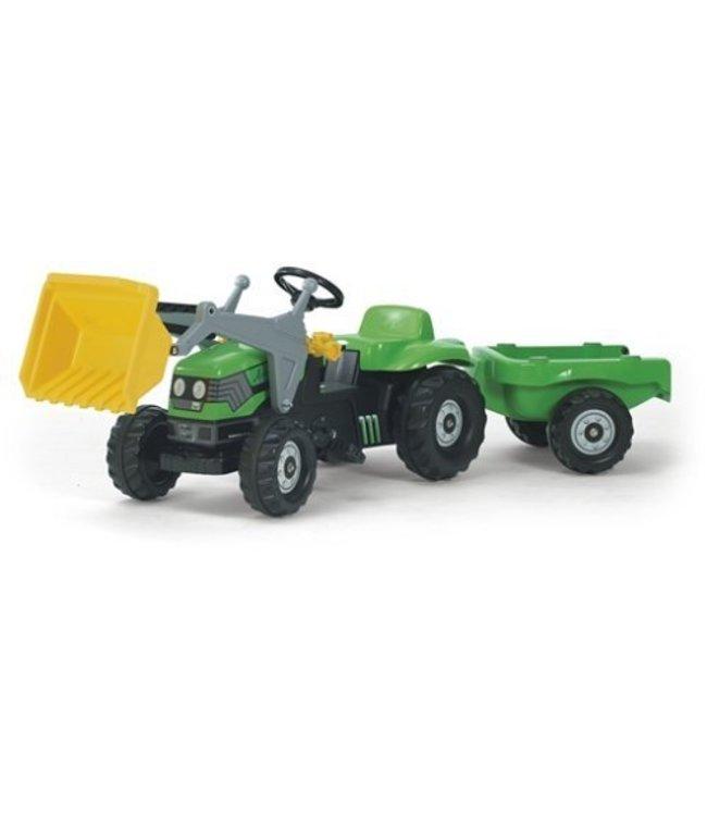Rolly Toys RollyKid Deutz-Fahr Tractor met Lader en Aanhanger