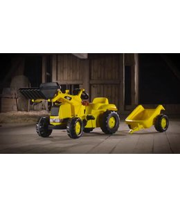 Rolly Toys Rolly Toys RollyKid Traptractor met Lader en Aanhanger CAT