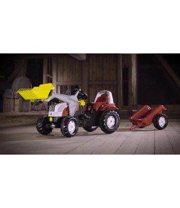Rolly Toys RollyKid Steyr 6190CVT Tractor met Lader en Aanhanger