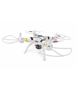 Jamara Jamara RC Payload Altitude Drone RTF/ Foto/Video/Sound Recording/Gyro Inside + Lights 2.4 Ghz Wit
