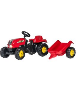 Rolly Toys Rolly Toys RollyKid Traptractor met Aanhanger