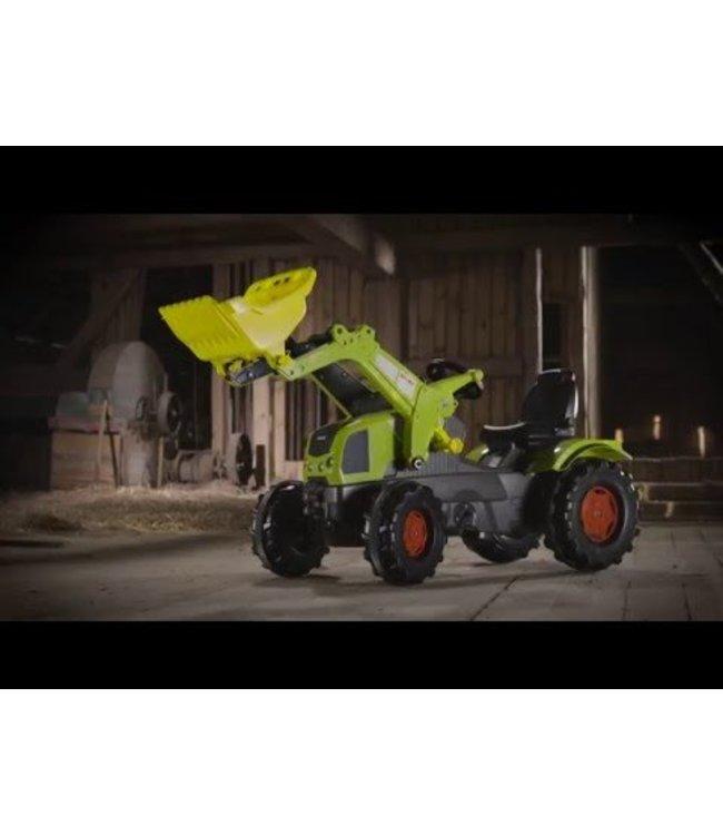 Rolly Toys RollyFarmtrac  traptractor met Lader Claas Axos 340