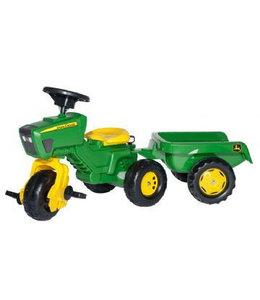 Rolly Toys RollyTrac John Deere Tractor met Aanhanger