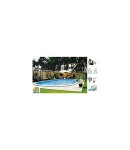Interline Interline Sunlake Opbouw/Inbouw Zwembad Ovaal 610x360x132 cm