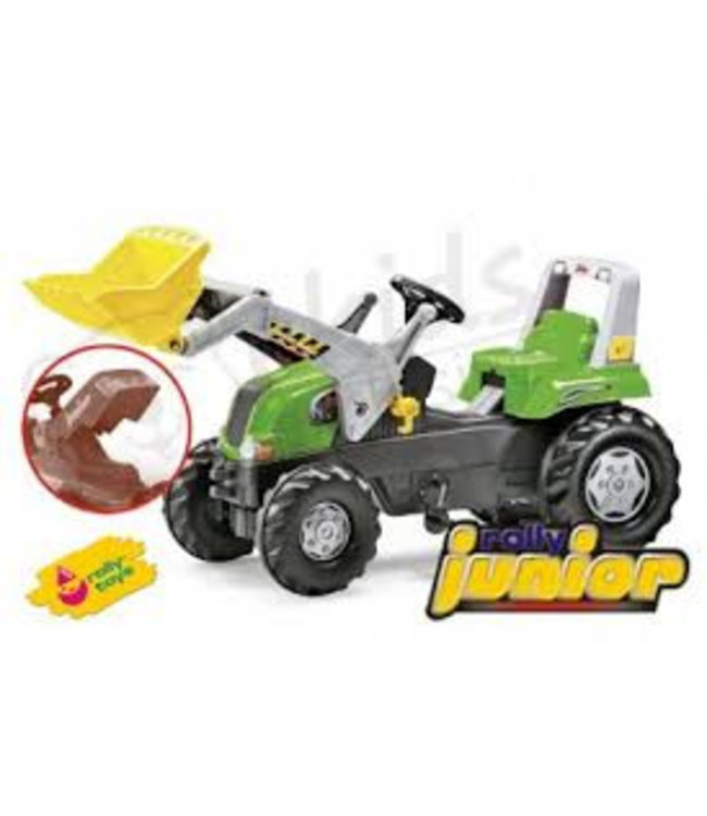 Rolly Toys RollyJunior Traptractor met Voorlader RT