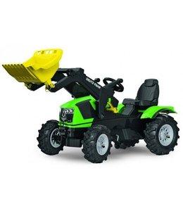 Rolly Toys RollyFarmtrac Deutz-Fahr 5120 Tractor met Lader en Luchtbanden