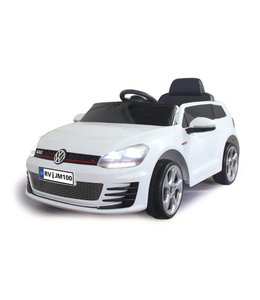 Jamara Jamara VW Golf GTI Ride-On + 2,4 GHz Afstandsbediening 12V Wit