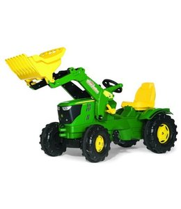 Rolly Toys Rolly Toys RollyFarmtrac John Deere 6210R Traptractor met Lader