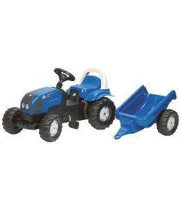 Rolly Toys RollyKid Landini Power Farm 100 Tractor + Aanhanger