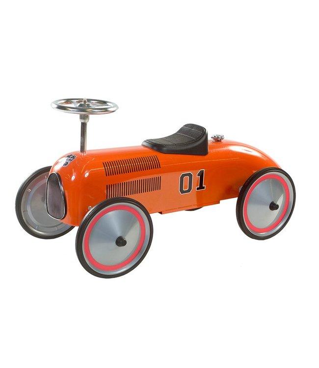 Retro Roller Formule 1 Retro Roller Loopauto Charley Oranje