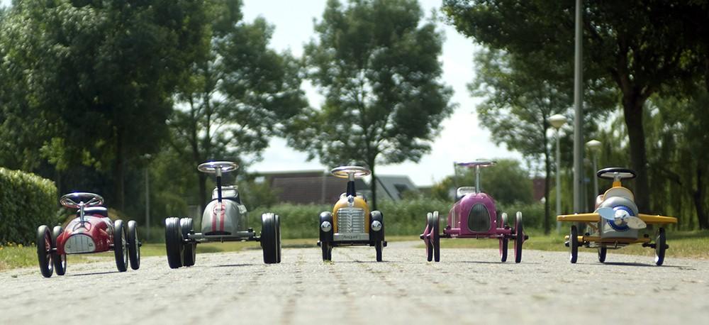 Retro Roller auto's