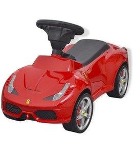 Basic Ferrari 458 Rode Loopauto 1 jaar