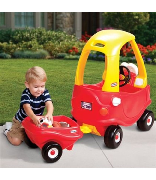Little Tikes Cozy Coupe Aanhanger Rood