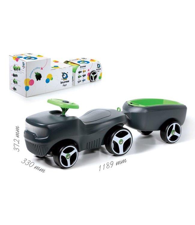 Brumee Loopauto met Aanhanger - Brumee Farmee Set