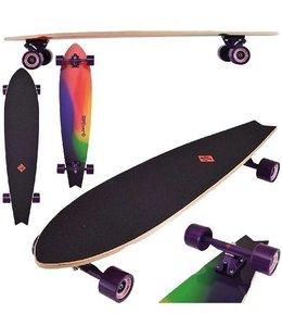 Street Surfing Street Surfing Fishtail Sunset Longboard