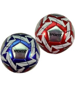 SportX SportX Mini Bal Metallic Flash Assorti