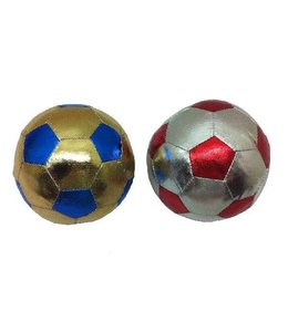 Summertime Summertime Stoffen Ball Zilver + Goud 10cm