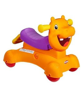 Hasbro Hasbro Playskool 3in1 Rock en Ride Nijlpaard