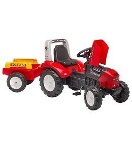 Falk Falk Tractor met Aanhanger Lander Z240X