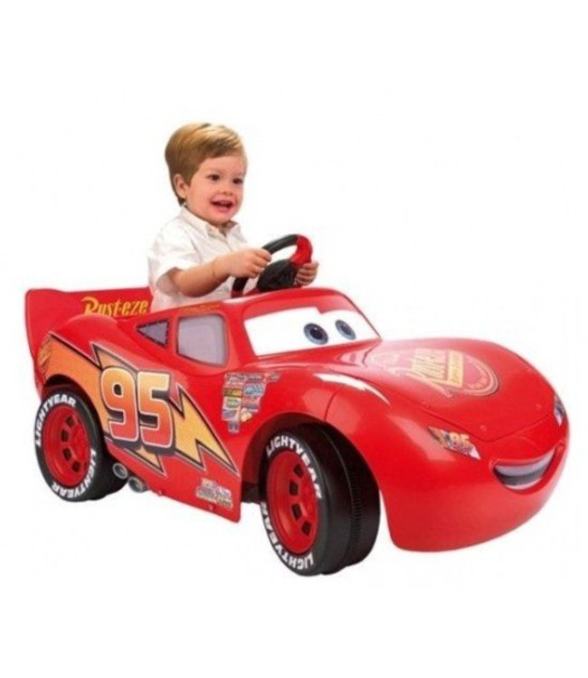 Cars Bliksem McQueen Accuvoertuig 6V