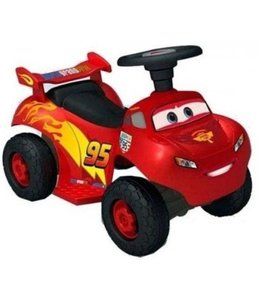 Cars Cars 2 Lightning MC Queen Quad 6V