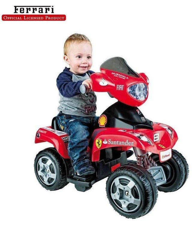 Feber Feber Elektrische Ferrari 6V Kinderquad