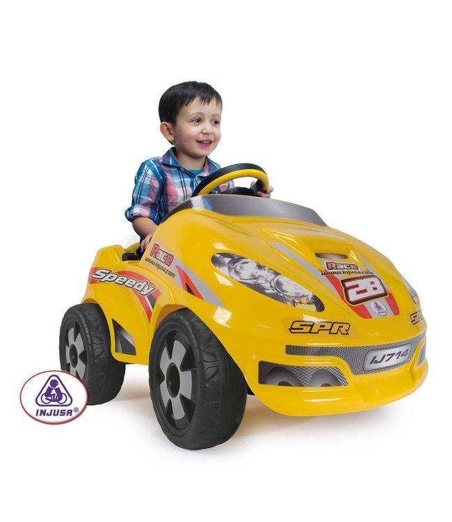 Injusa Injusa Speedy Car Accu Auto 6V. Geschikt voor kinderen vanaf 2 jaar.