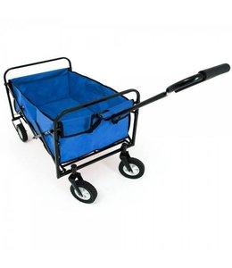 Outdoor Outdoor Opvouwbare Bolderwagen Blauw
