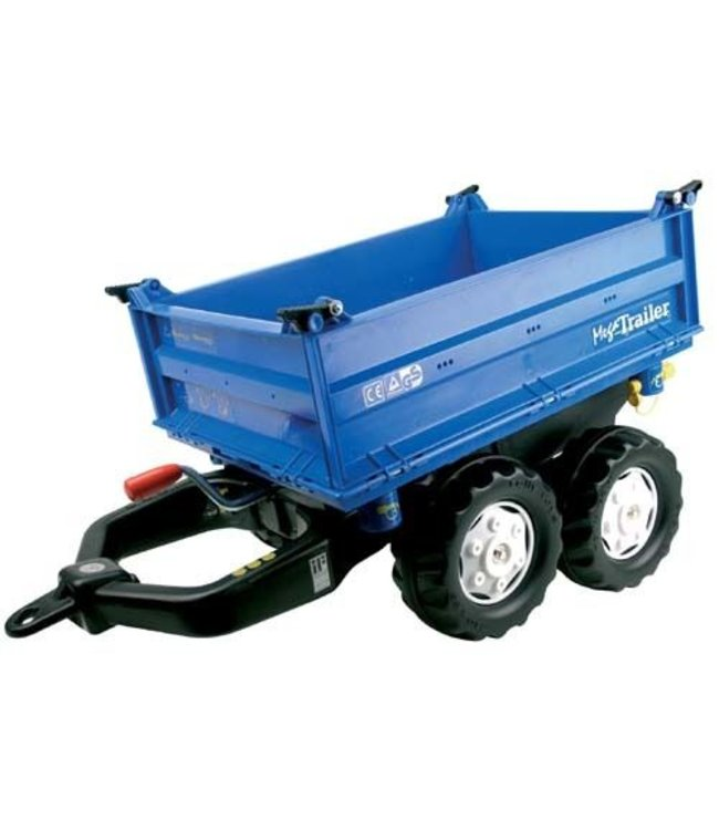 Rolly Toys Rolly Toys 121106 RollyMega Trailer Blauw