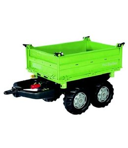 Rolly Toys 121502 RollyMega Trailer Deutz Groen