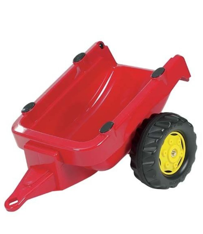 Rolly Toys Rolly Toys 121700 RollyKid Trailer Aanhanger Rood