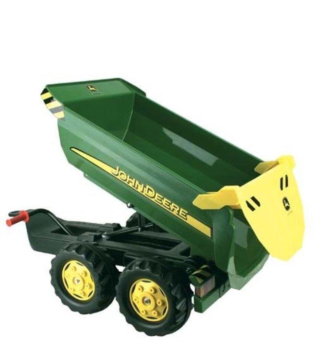 Rolly Toys 122165 RollyHalfpipe Trailer John Deere