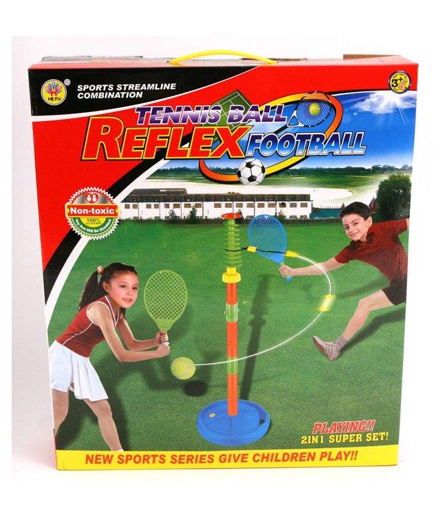 Basic Tennis Trainerset Op Voet