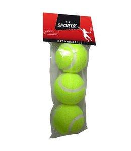 SportX SportX Tennisballen *** 3 stuks