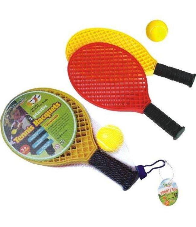 Basic Softtennis Rackets + Bal