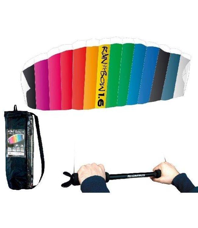 Rhombus Rhombus Rainbow 1.6 Matrasvlieger + Bar