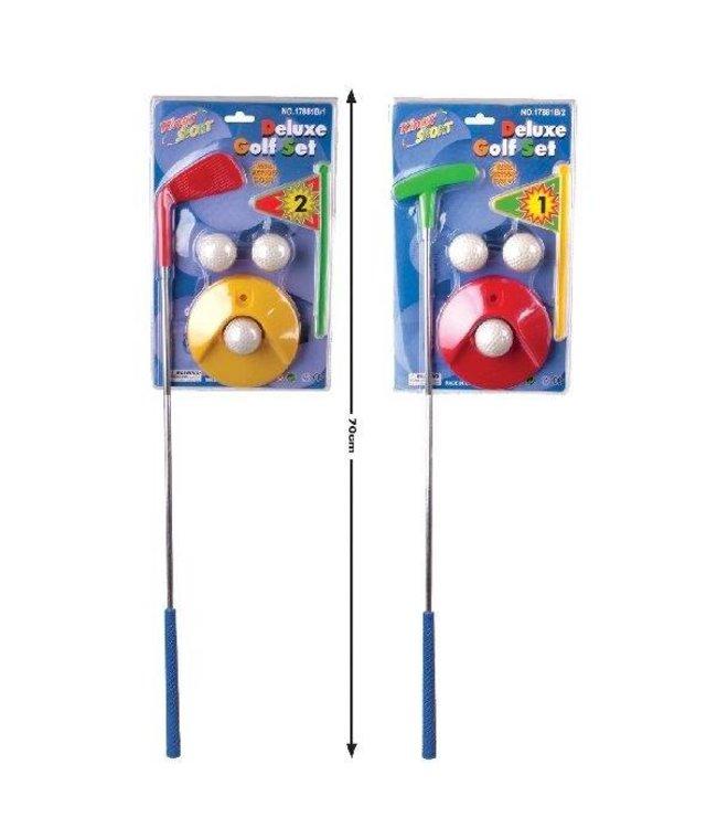 Basic Golf Set DeLuxe Assorti