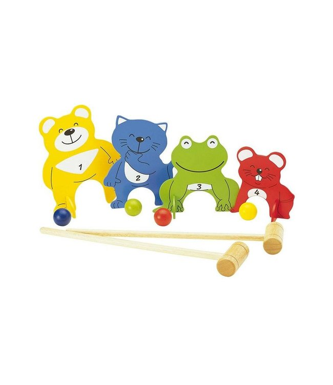 Pintoy Pintoy Croquet Four Friends