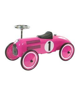 Retro Roller Retro Roller Formule 1 Loopauto Roze Marilyn Fuchsia