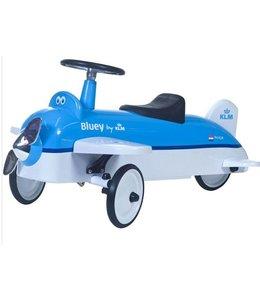 Retro Roller Ride On KLM Vliegtuig Bluey