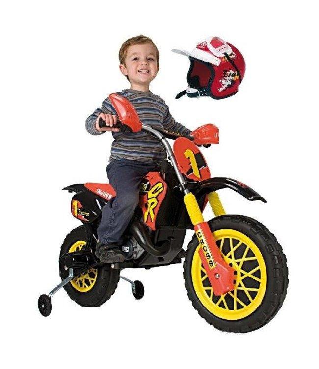 Injusa Injusa Motorbike Enduro + Helm 6V 3+