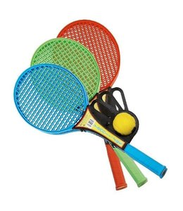 Diversen Softtennis Set + Bal Assorti