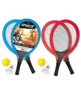 SportX SportX Jumbo Tennis Set Assorti