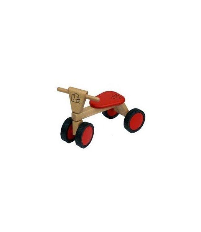 Van Bueren Van Bueren 66200 Houten Trike Rood