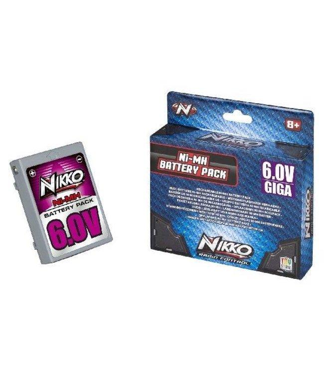 Nikko Nikko Giga Pack Ni-MH Batterij 6,0V
