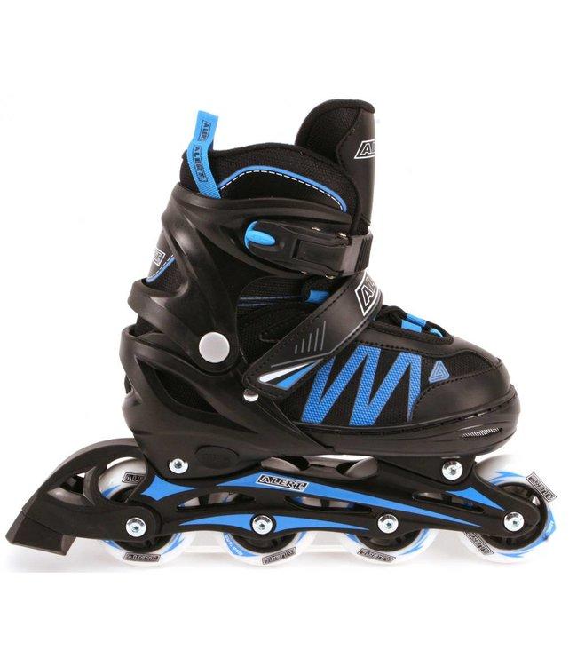Alert Alert Inline Skates Zwart/Blauw Maat 35-38