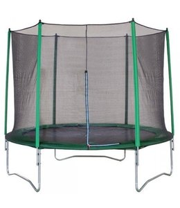 Game On Sport Mega Jump Trampoline Set 366cm Groen